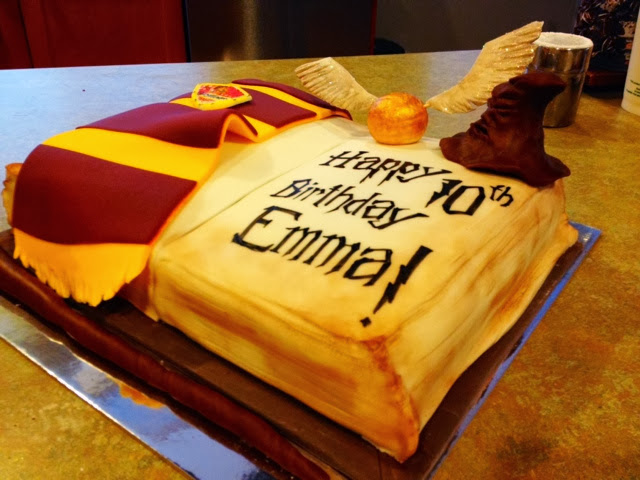 Harry Potter Birthday Cake The Sweet Life