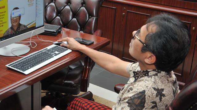 Foto: Gubernur Sumbar Irwan Prayitno. Perlu Kesiapan Daerah Dalam Pencegahan Stuting Dimasa Pandemi Covid-19.