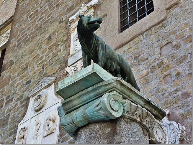 She-wolf - symbol of Rome