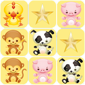 Memory Game Animals Children