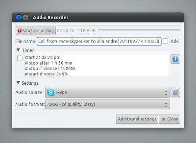 Audio Recoder