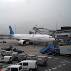 Garuda Indonesia at Schiphol airport