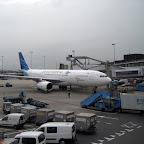 Garuda Indonesia at Schiphol airport