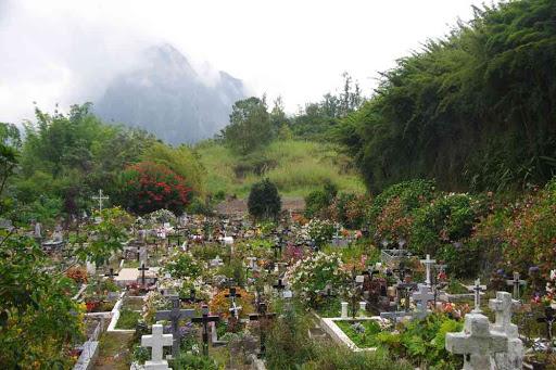 Le cimetière d'Hell-bourg.