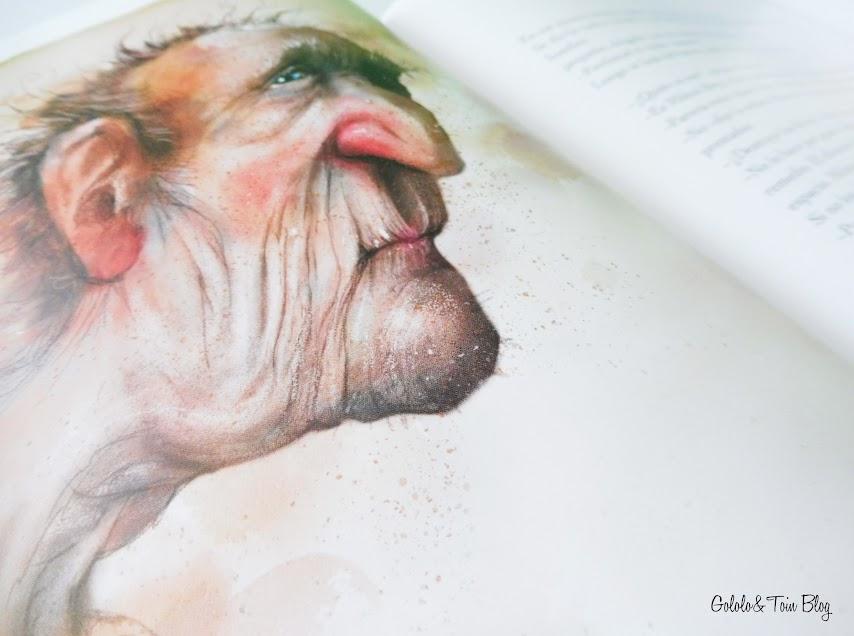 Ilustraciones cuento La niña que salvó los libros
