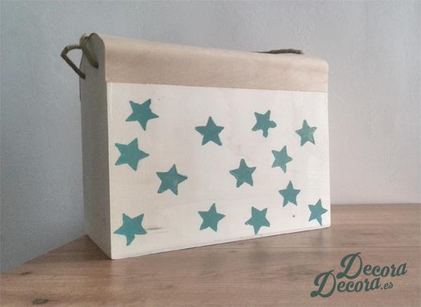 Idea para pintar una caja