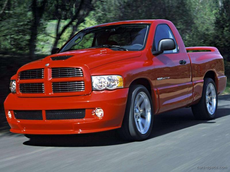 2004 dodge ram pickup 1500 srt 10 specifications pictures prices. Black Bedroom Furniture Sets. Home Design Ideas