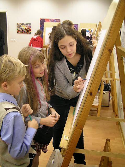 Kunstiosakonda astunud õpilaste pühitsemine 2013 - PB070182.JPG