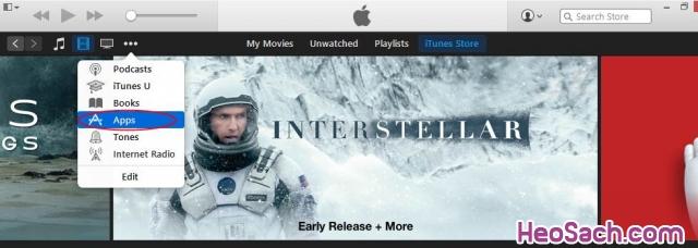 Hình 2 - Hướng dẫn lập tài khoản Apple ID, iCloud, Appstore qua iTunes