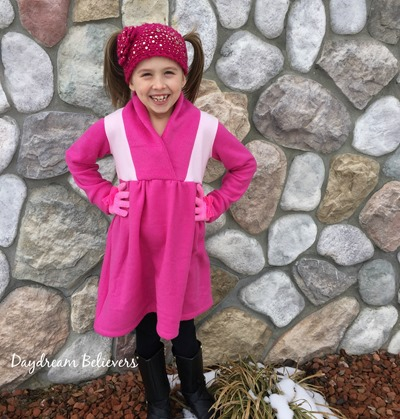 Girls Winter Fleece Dress by Daydream Believers for CKC