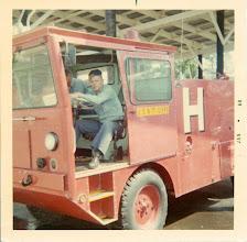 Photo: Crash crewman Bill Griffin '68