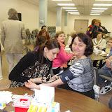 Spotkanie medyczne z Dr. Elizabeth Mikrut przy kawie i pączkach. Zdjęcia B. Kołodyński - SDC13505.JPG