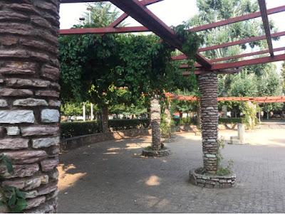 Santjago ceļš. 14. diena. Parks Leonā.