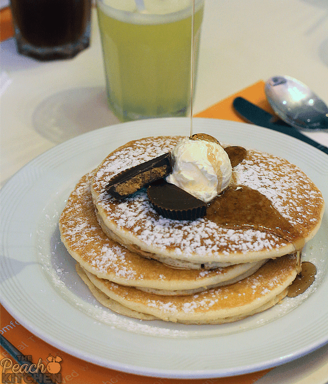 Peanut Butter Cup Pancakes from Pancake House