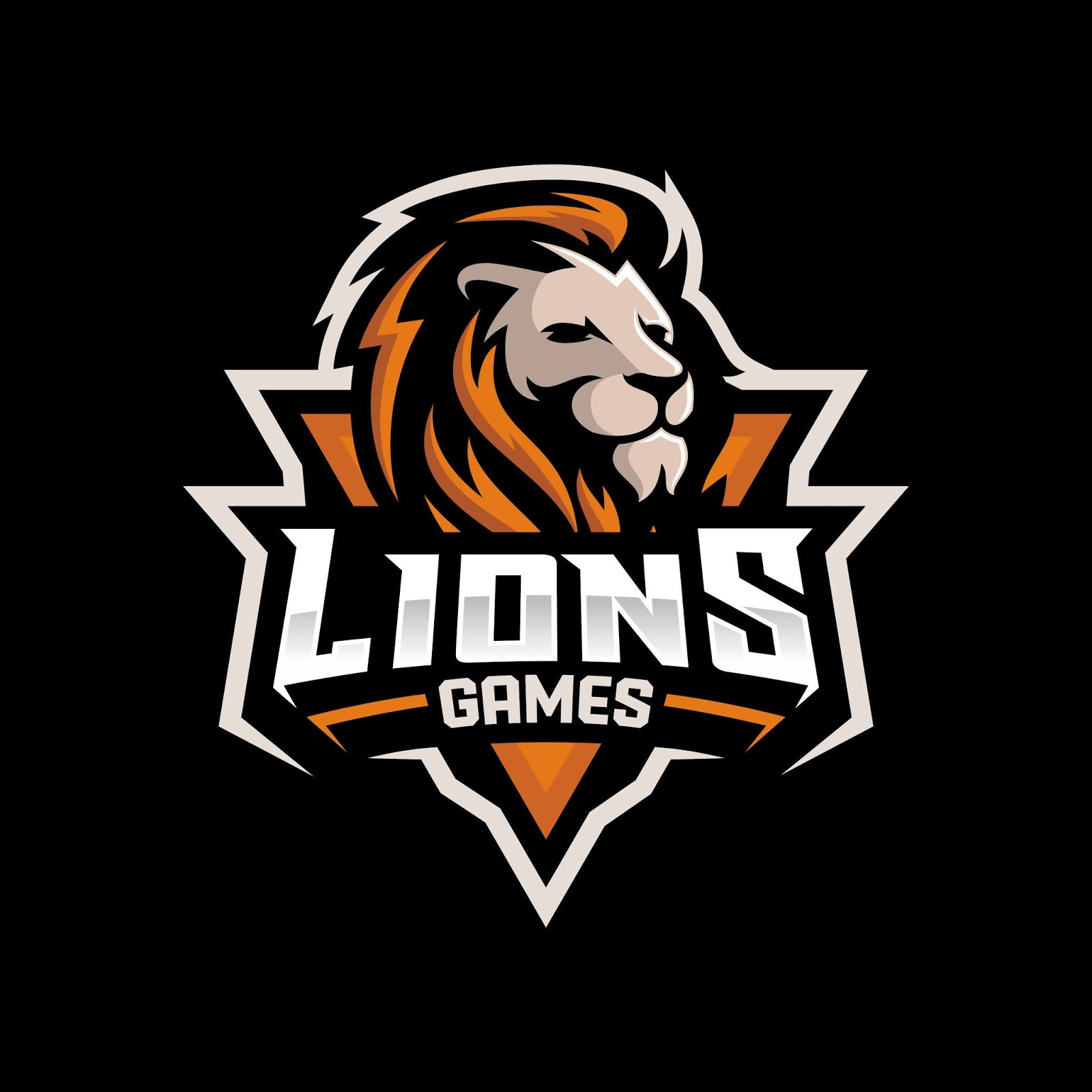 Lion Head Gaming Logo Esport Sport Free Download Vector CDR, AI, EPS and PNG Formats