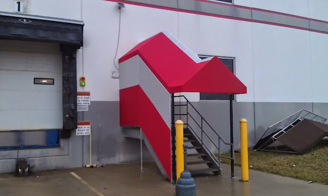 Shed And Slant Style Commercial Awning Contractors