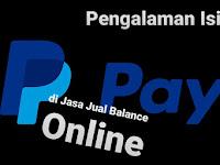 Pengalaman Isi Saldo Paypal di Jasa Jual Beli Balance Online