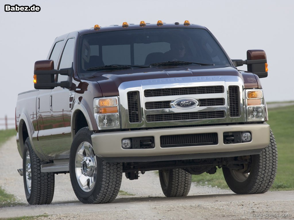 2010 Ford F 250 Super Duty Crew Cab Specifications