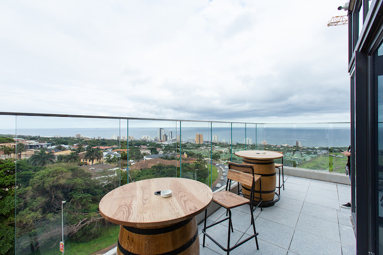 Spectacular ocean views at The Baron, Umhlanga Arch.