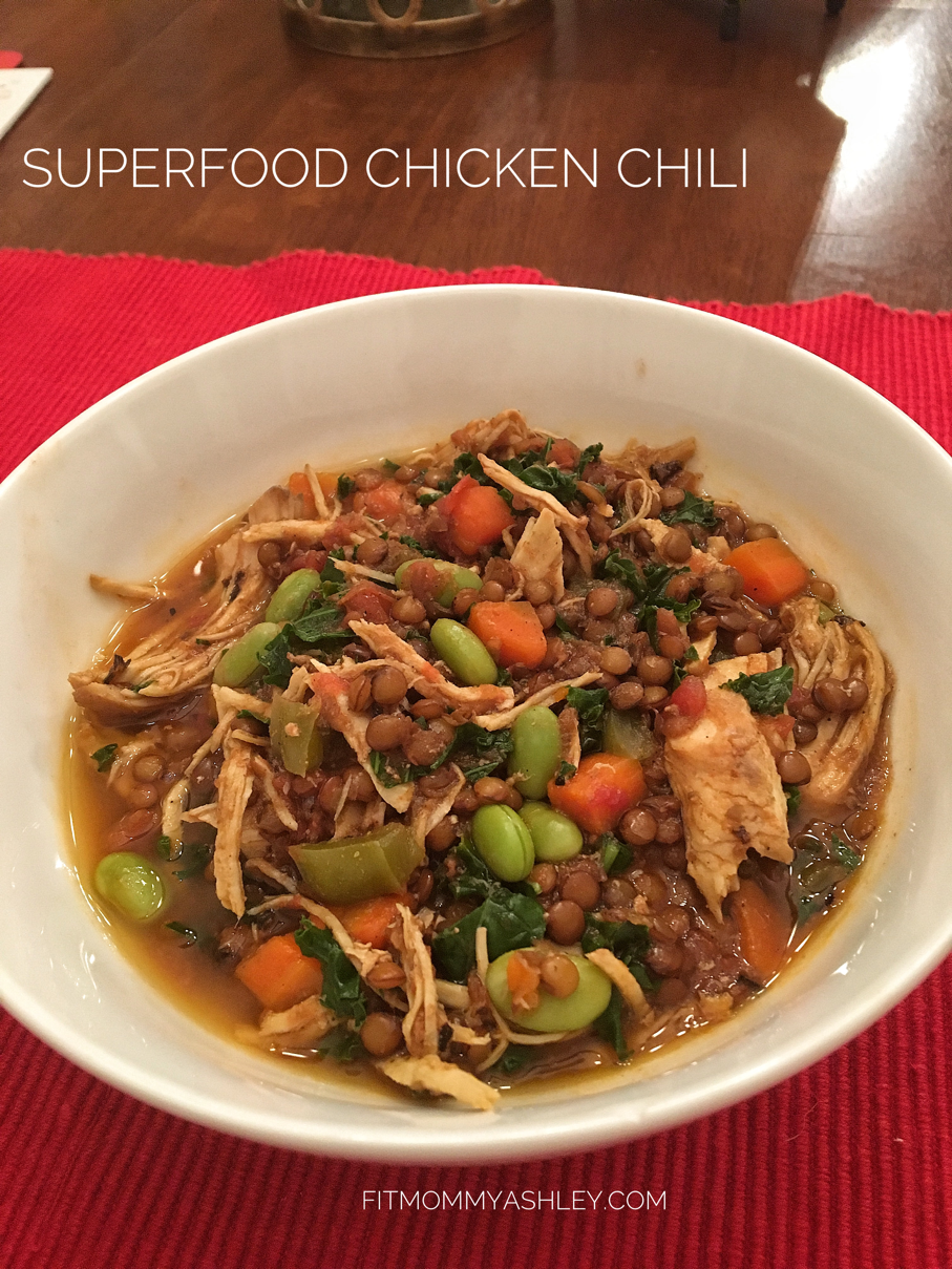 superfood, Chicken, Chili, crockpot, instant pot, dinner, easy, healthy, 80 Day Obsession, recipe, 21 Day Fix, clean eating,