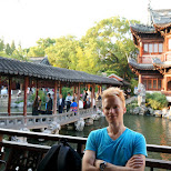 matt at Yu Garden in Shanghai, Shanghai, China