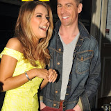OIC - ENTSIMAGES.COM - Gemma Oaten and Matt Evers  at the Style for Stroke T-shirt - launch party in London 13th May 2015  Photo Mobis Photos/OIC 0203 174 1069