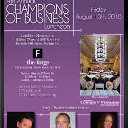 4th Annual Champions of Business Luncheon