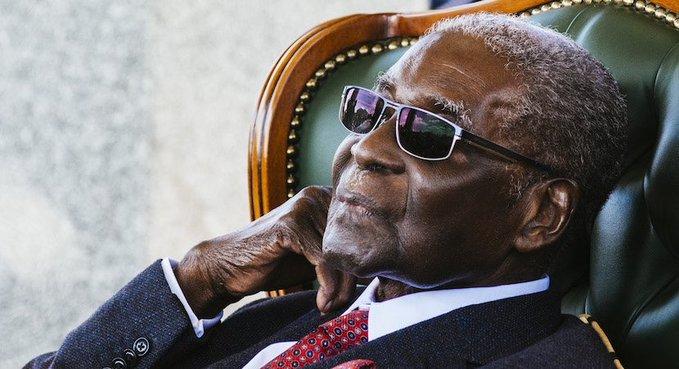 Former Zimbabwe president Robert Mugabe. PHOTO   BBC