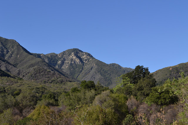 high point of Santa Ynez Mountains