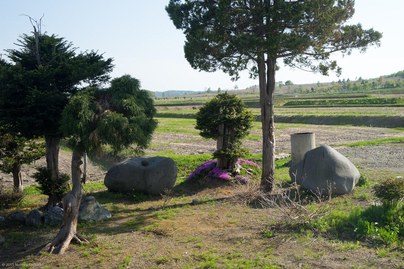 北竜町で一番大きな石