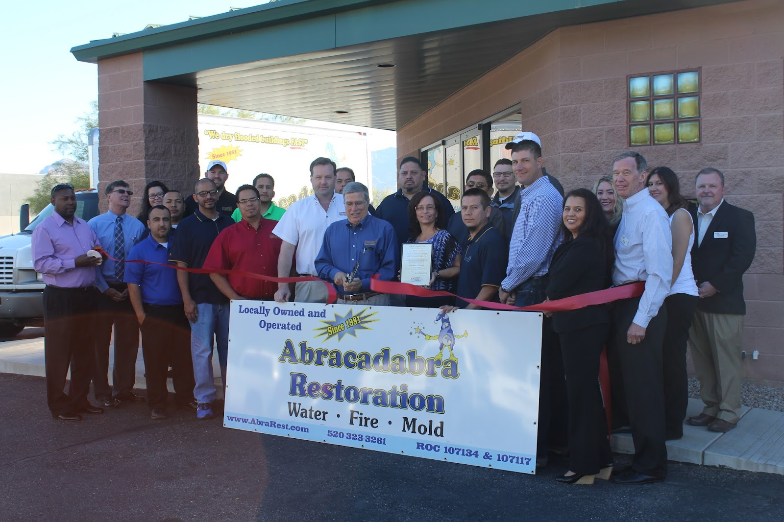 Congratulations to Abracadabra Restoration, located at 4814 N. Shamrock Place, on their 35th anniversary!