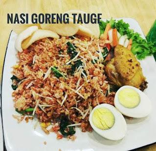 Resep nasi goreng tauge