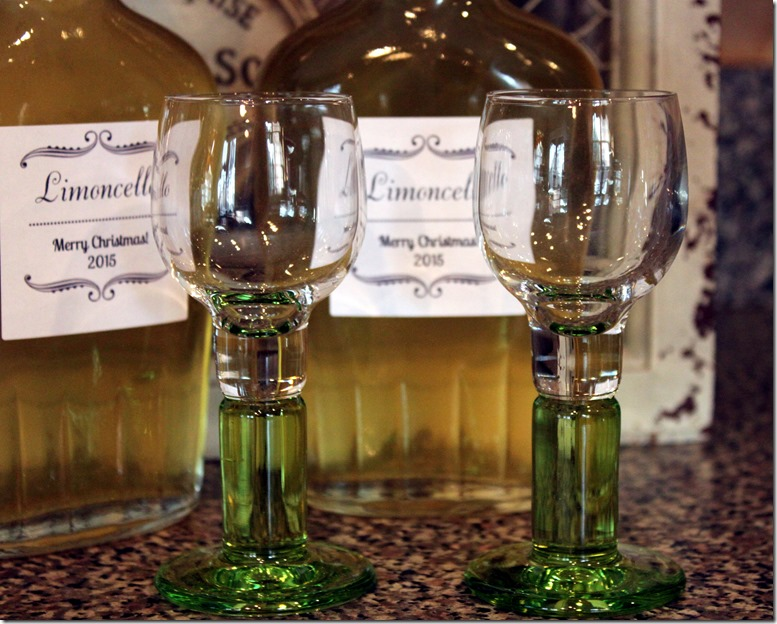 Limoncello Two Glasses Better
