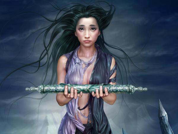 Girl With Silver Staff, Fairies 3
