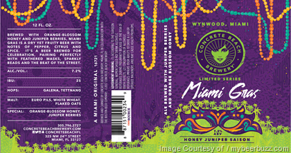Concrete Beach Miami Gras Cans
