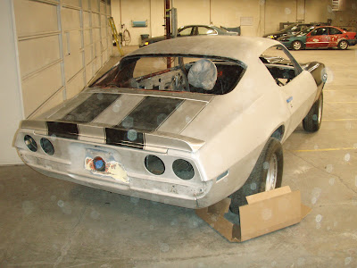 1970 Camaro SS getting autobody repair at Almost Everything