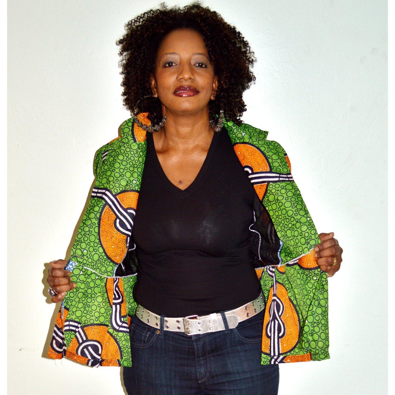 LATEST AFRICAN PRINT BLAZER DESIGNS FOR PRETTY WOMEN 4