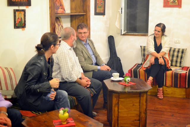 Seara literara - Editura Eikon lanseaza patru carti, La Vulturi (2014.09.03) 148
