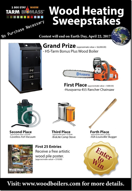 Wood Heating Sweepstakes_Blog