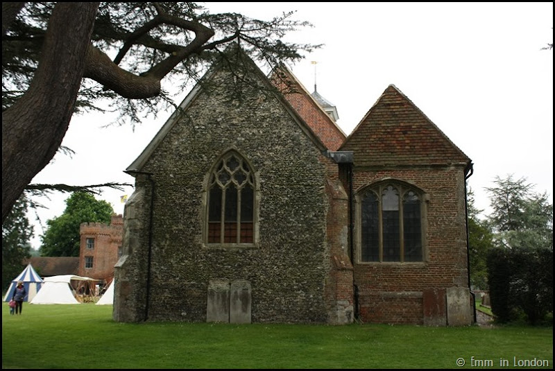 St Botolphs Church Lullingstone Castle