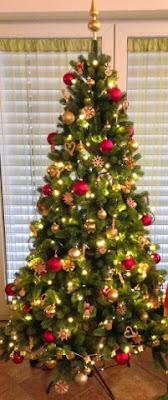 Geschmückter Weihnachtsbaum 2014