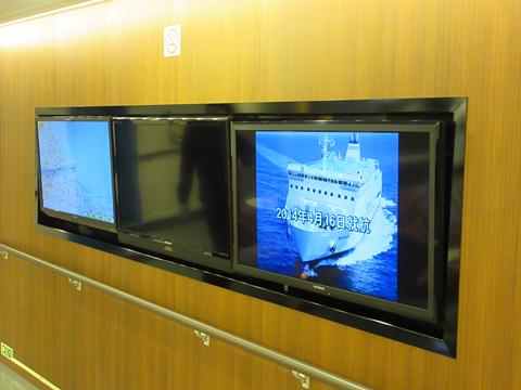 津軽海峡フェリー「ブルーマーメイド」 エントランス その2