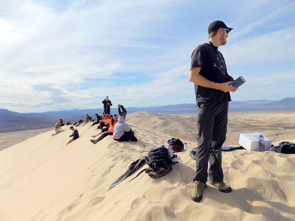 Horde on top of Kelso Dunes