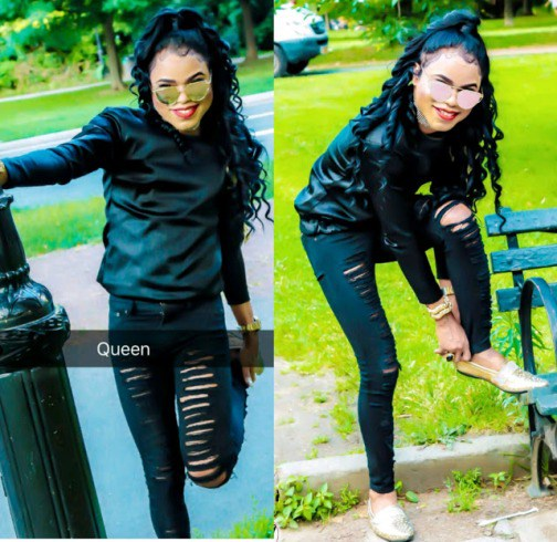 Nigerians Blasts Bobrisky For Writing Bad English On IG (See What He Posted)