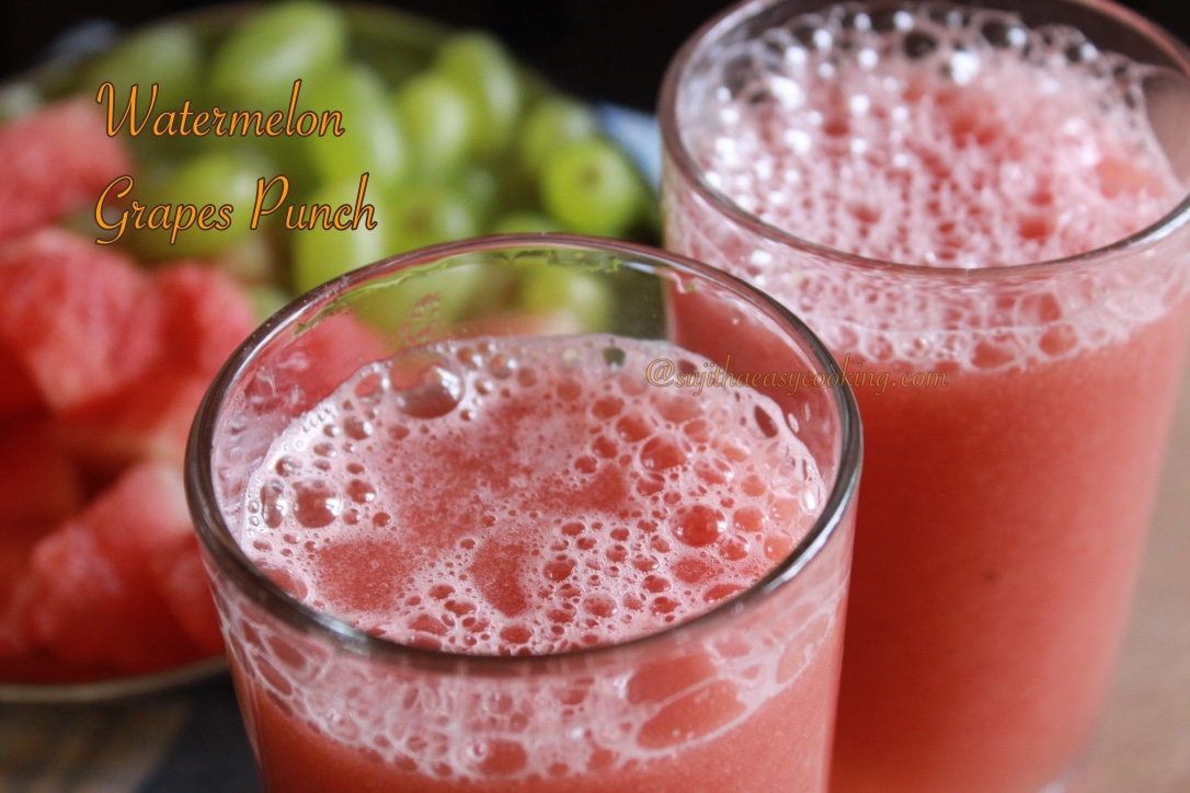 Watermelon  Grapes Punch2