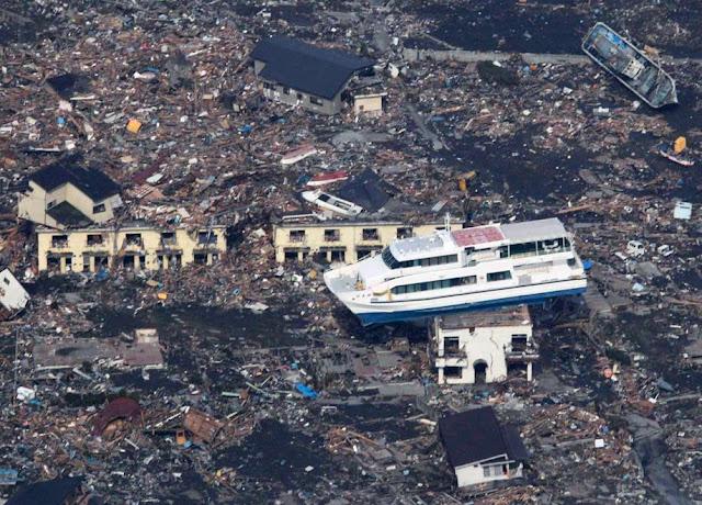 barcoentejado 10 fotos sorprendentes del terremoto de Japón