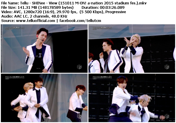Download [Perf] SHINee – View + Your Number + Everybody @ a