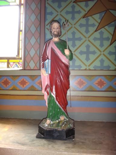 Imagem de São Judas Tadeu - Santuário Sagrado Coração de Jesus, Vera Cruz/SP