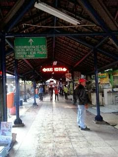 perjalanan menuju Kebun Bibit Surabaya untuk arisan ilmu kumpulan emak blogger