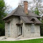 Château de Rambouillet : Jardin anglais, la Chaumière aux coquillages